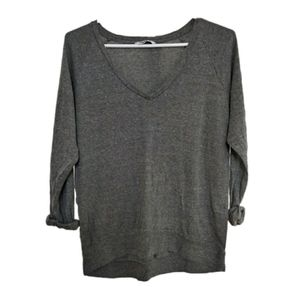 Aritzia TNA Gray Long Sleeve